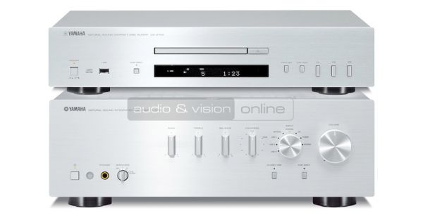 Yamaha A-S701 integrált sztereó erősítő és CD-S700 CD-lejátszó