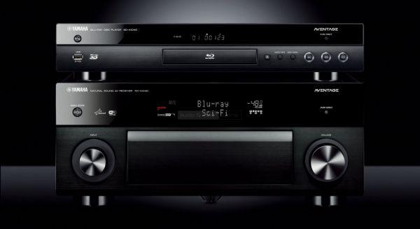 Yamaha Aventage BD-A1040 Blu-ray lejátszó és RX-A1040 házimozi erősítő
