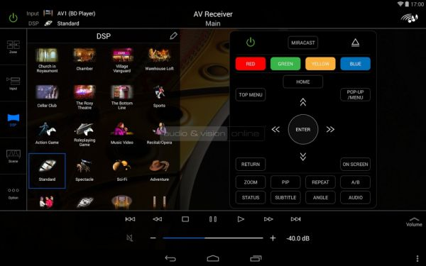 Yamaha AV Controller App