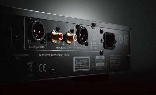 Yamaha BD-A1060 Blu-ray lejátszó csatlakozók