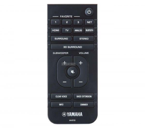 Yamaha MusicCast BAR 400 soundbar távvezérlő