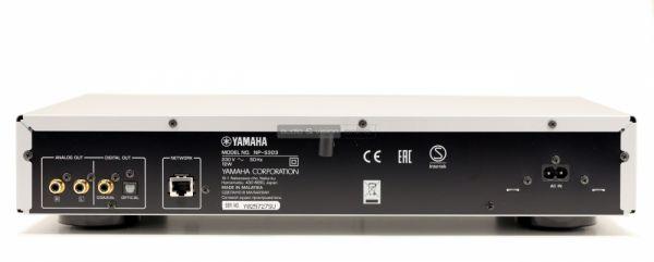 Yamaha NP-S303 hálózati zenelejátszó hátlap