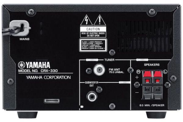 Yamaha Piano Craft Micro 330 (CRX-330) csatlakozók
