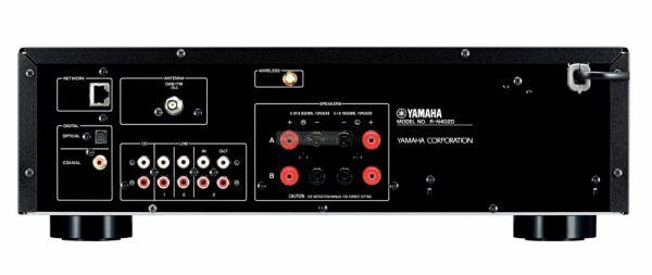 Yamaha R-N402D hátlap