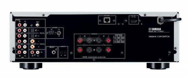 Yamaha R-N500 integrált sztereó hálózati rádióerősítő hátlap
