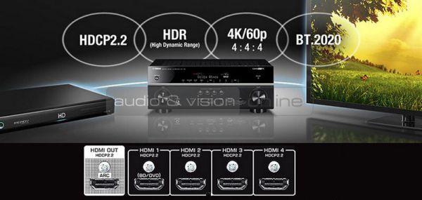 Yamaha RX-V381 házimozi erősítő HDMI