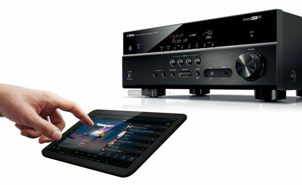 Yamaha RX-V481 MusicCast házimozi erősítő