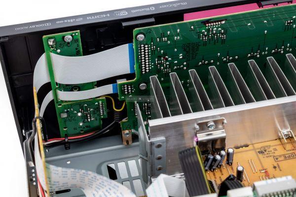 Yamaha RX-V485 házimozi erősítő belső