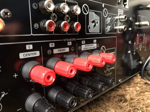 Yamaha RX-V4A házimozi erősítő hangfal csatlakozó