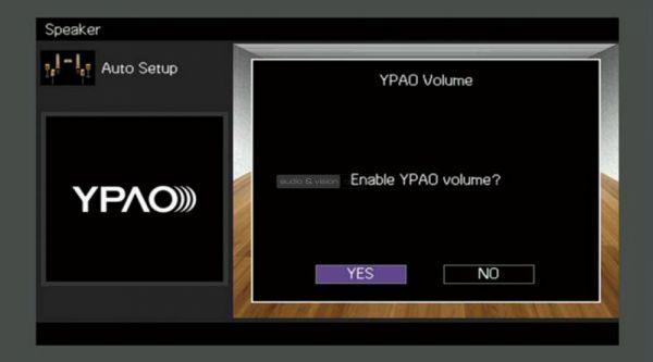 Yamaha RX-V683 házimozi erősítő menü