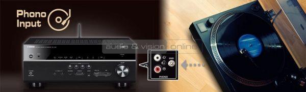 Yamaha RX-V683 házimozi erősítő Phono