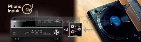 Yamaha RX-V781 házimozi erősítő Phono input