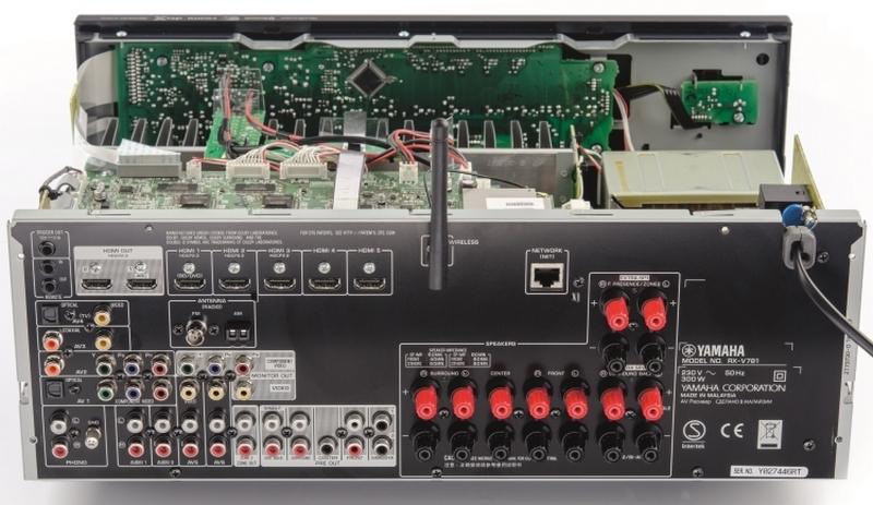 Yamaha rx v781 h zimozi er s t teszt av for Yamaha rxv781 review
