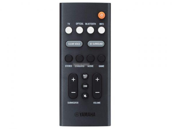 Yamaha SR-B20A soundbar távvezérlő