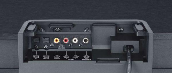Yamaha SRT-1000 hangállvány csatlakozók