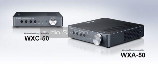 Yamaha WXA-50 MusicCast hifi erősítő és WXC-50 hifi előfok