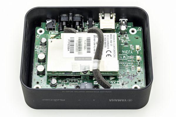 Yamaha WXAD-10 MusicCast zónajátszó belső
