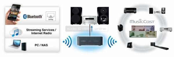 Yamaha WXAD-10 MusicCast zónajátszó