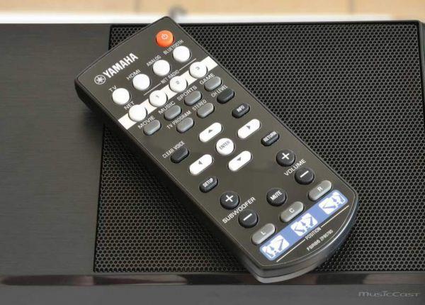 Yamaha YSP-1600 MusicCast soundbar távvezérlő