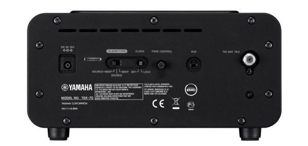 Yamaha TSX-70 iPod dokkolós hangrendszer hátlap