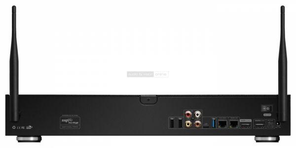 Zappiti Duo 4K HDR médialejátszó hátlap