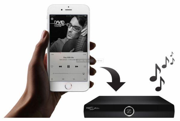 Zappiti Mini 4K HDR hálózati médialejátszó - iPhone AirPlay