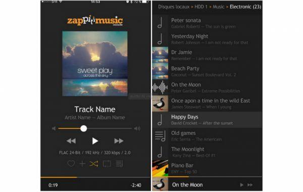 Zappiti Music App