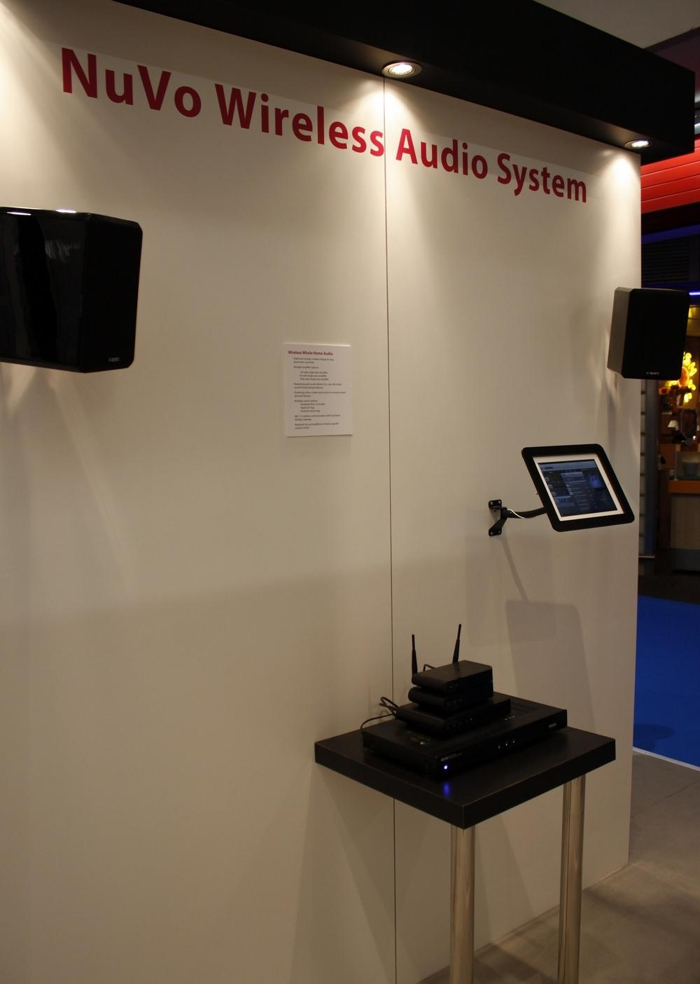 ISE 2013 NuVo Wireless Audio System