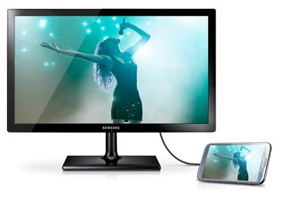 Samsung T24C370EW LED TV és monitor