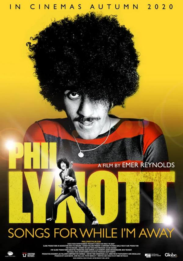 Phil Lynott Songs For While Im Away poster