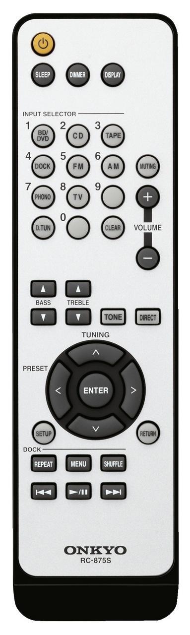 Onkyo TX-8020 távvezérlő